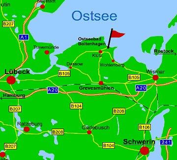boltenhagen karte ostsee Boltenhagen an der Ostsee in Mecklenburg Vorpommern MV